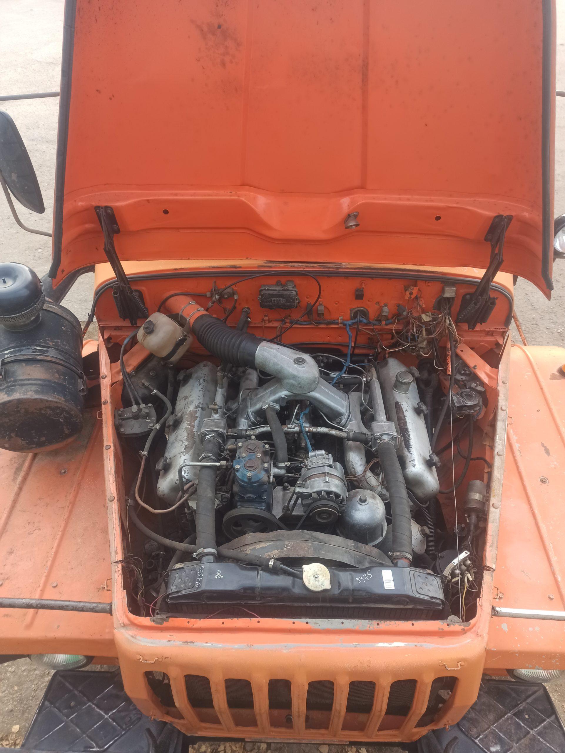 Дизельный двигатель ЯМЗ